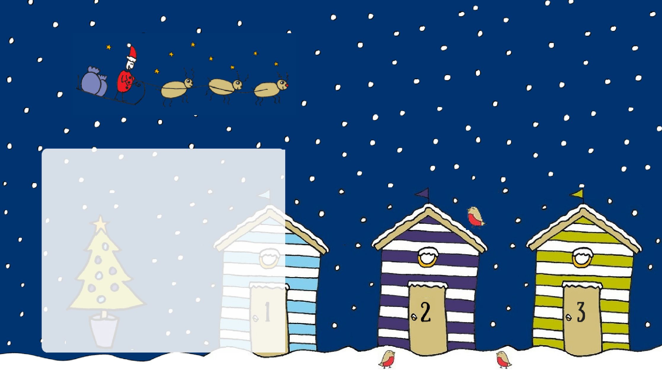 Join in our Christmas Advent-ures