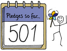 501 pledges notepad