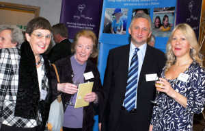 Fiona Hills (second from left) alongside Linda Laurance, Keith Graham and Deborah Potts