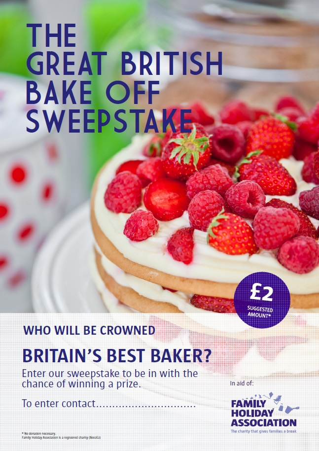 GBBO sweepstake poster