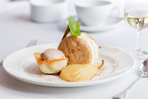 ChariTable Bookings - Franco's ricotta and pear