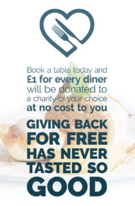 Charitable Bookings - Giving back for free has never tasted so good