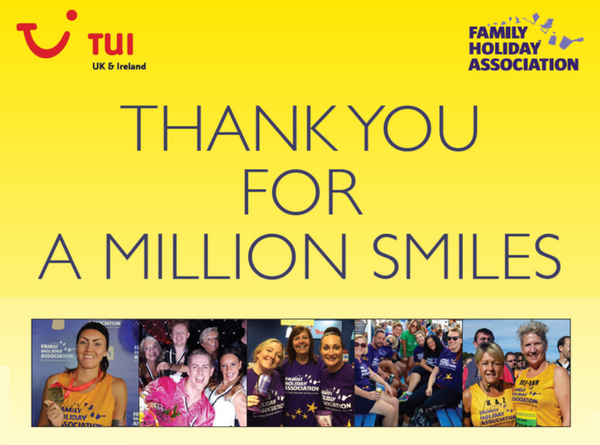 Thank you for A Million Smiles