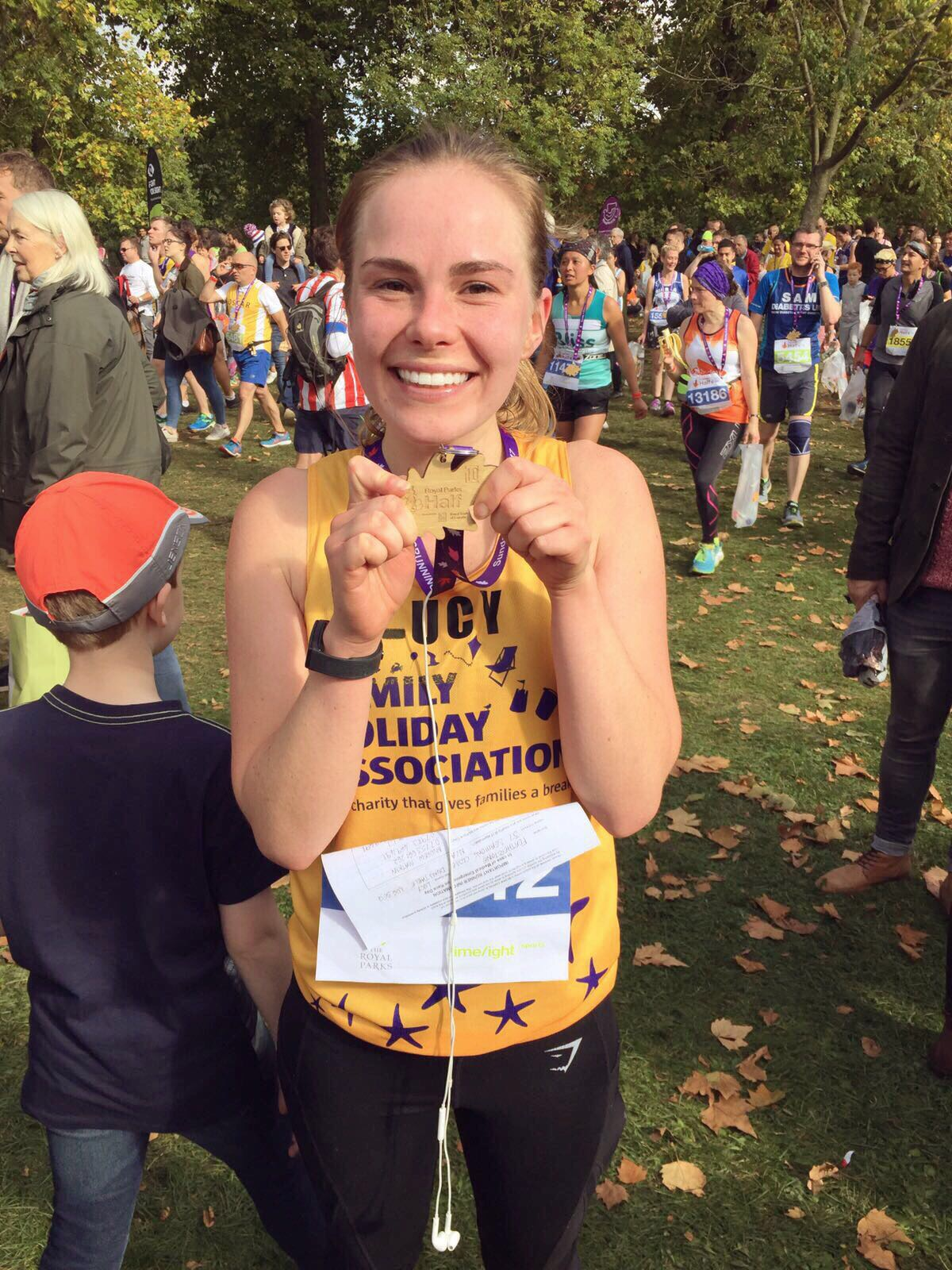 Lucy Royal Parks Foundation Half Marathon