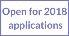 Open for 2018 applications