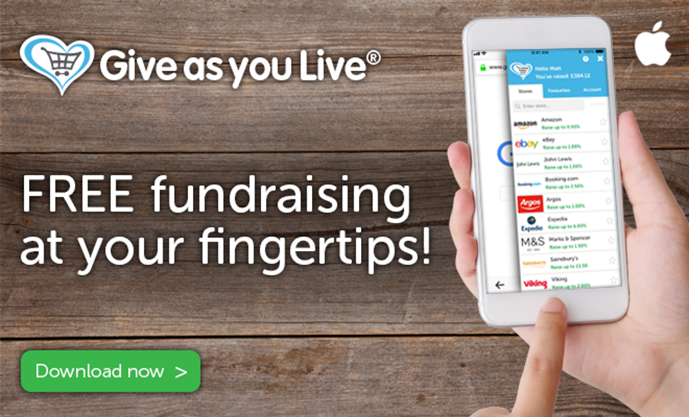 Give As You Live launch smartphone app