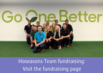 Hoseasons fundraising page
