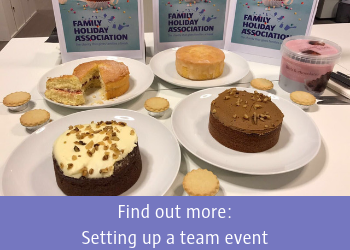 Find out more about setting up team events