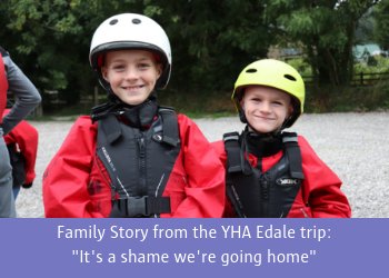 Family Story from the YHA Edale Trip