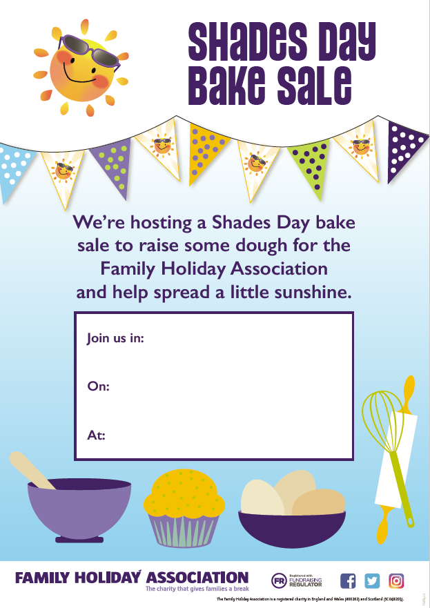 Download the bake sale poster