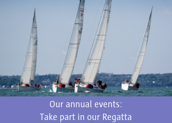 Our annual events: Take part in our Regatta