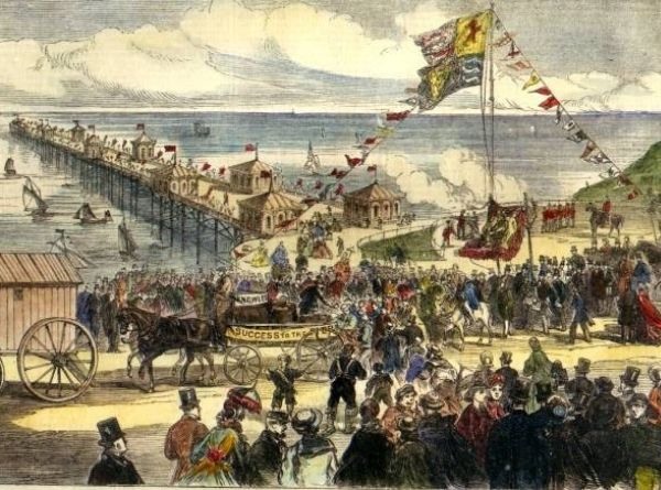 Opening of Blackpool North Pier