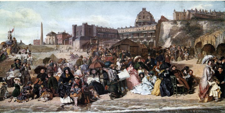 William Powell Frith's painting Life at the Seaside